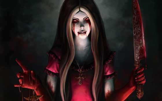 алиса, returns, madness, нож, кровь,