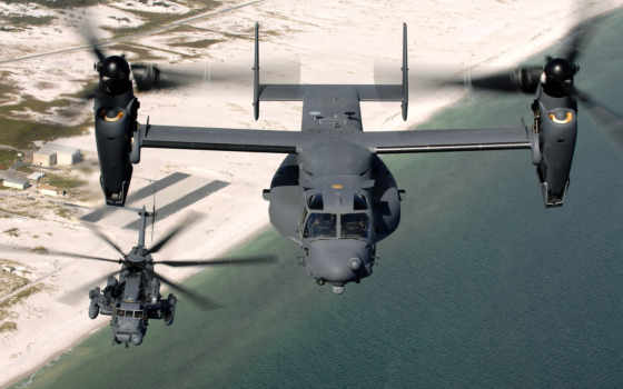 самолёт, osprey, вертолет