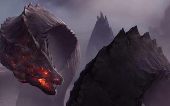 дракон, art, fantasy, драконы, картинка, красивые,