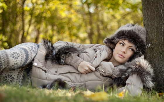 девушка, кофта, куртке, куртку, осень, нов, куртки,
