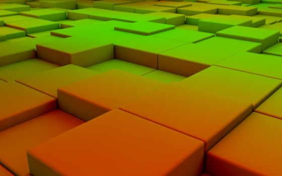 фон, космос, cubes
