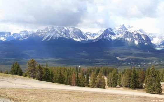 изображение, канада, природа, banff, mountains, venezuela, горы, desktop,