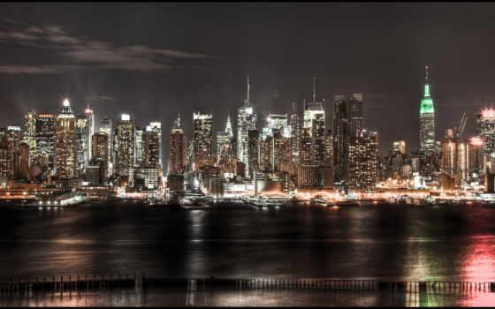 new, york, взгляд Фон № 143217 разрешение 5646x2723