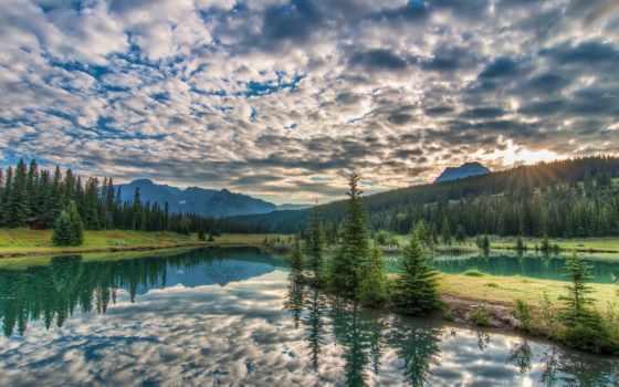 море, природа, горы, водопады, леса, небо, цветы, rylik, fone, дизайна, неба,