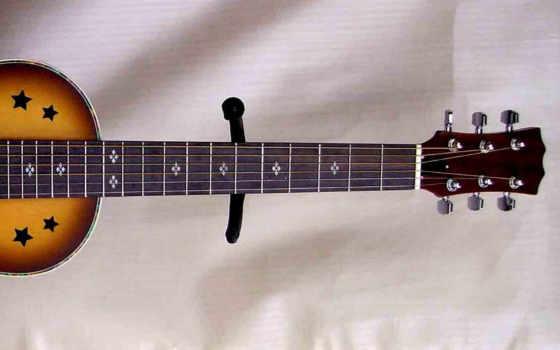 гитара, музыка, струны, асфальт, акустическая, стена, гриф, дорога,