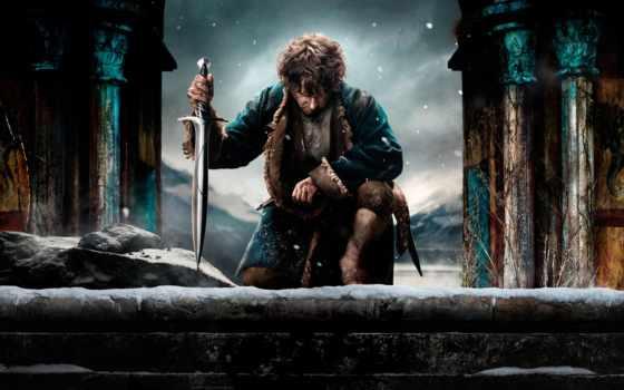 hobbit, битва, пять, armies, пяти, воинств, дек,