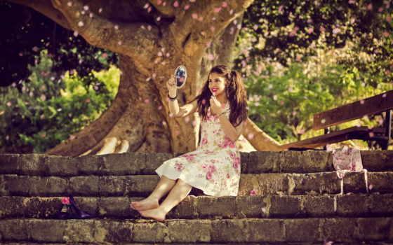 весна, девушка, картины, devushki, платье, белое, природа, за, музыка, russian, любви,