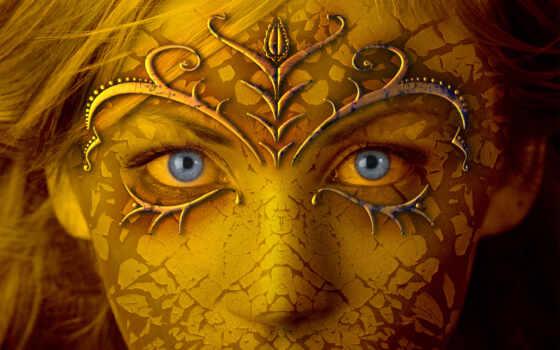 лицо, взгляд, волосы, глаза, смотрите, fantasy, mummy, gothic, dreamies,