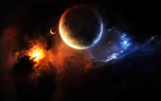 туманность, планета