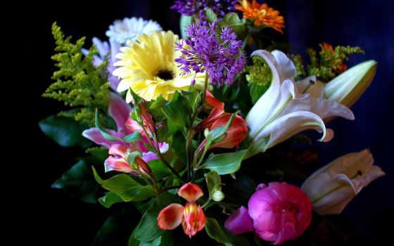 цветы, букеты, букет Фон № 57880 разрешение 1920x1200