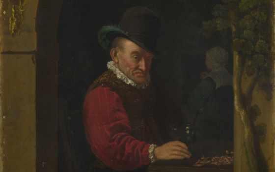 fiddler, ван, ан, frans, после, elder, mieris, pub, artist, ирландский, unknown,