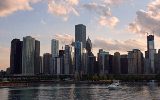 chicago, usa, skyline