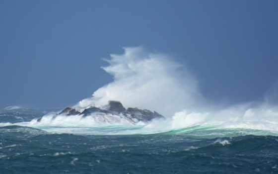 ветер, waves,
