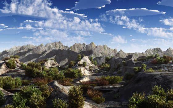 небо, горы Фон № 9245 разрешение 1920x1200