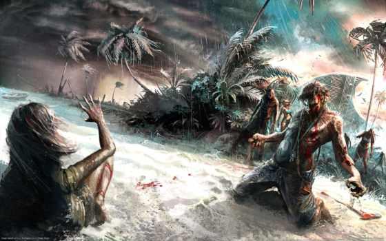 dead, island Фон № 33731 разрешение 2560x1600