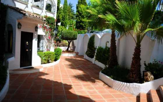 испания, landscape, города, марбелья, андалусия, дома,