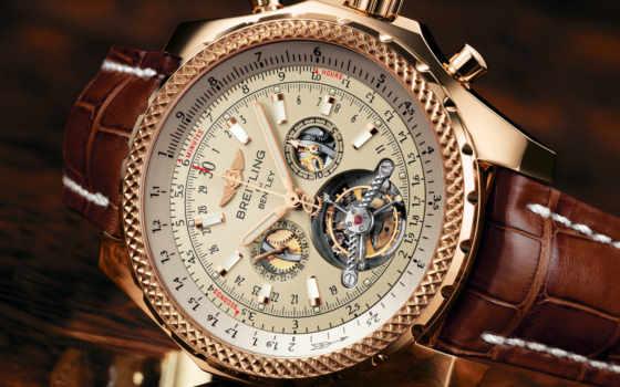 часы, мужские, швейцарские, breitling, bentley