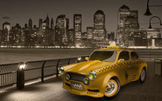 taxi, водителей, авто