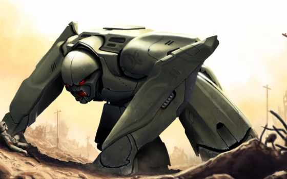 robot, art, киборги, sci, мужчина, машины, роботы,