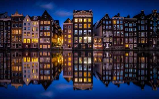 дома, телефона, art, город, holland, ноутбука, планшета,