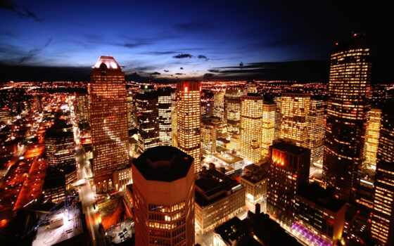город, города, ночных