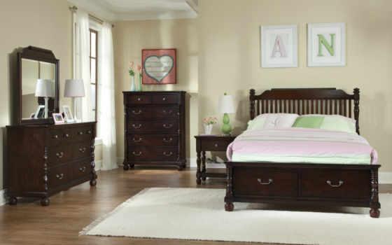 спальня, саванна, мебель