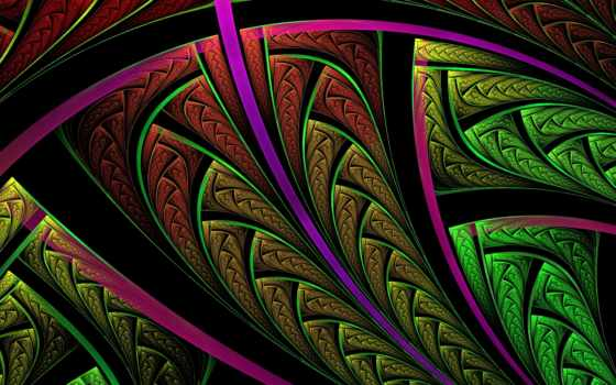 фракталы, абстракция, абстракции