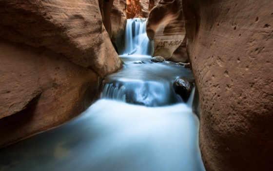 falls, waterfalls, каньон, arizona, водопад, миллер, scottsdale, larry, national,
