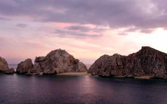 mazatlan, природа, desktop, mexico, закат, widescreen, mazatlán,