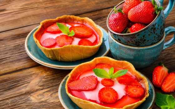 торт, десерт, сладкое, berries, ягоды, клубника, мороженое, еда, free,