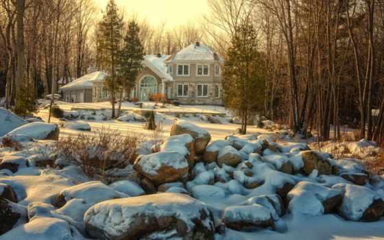 зима, image