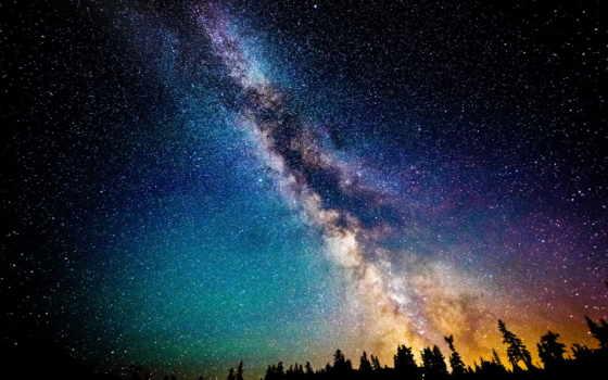 млечный, путь, звезды Фон № 48868 разрешение 1920x1080