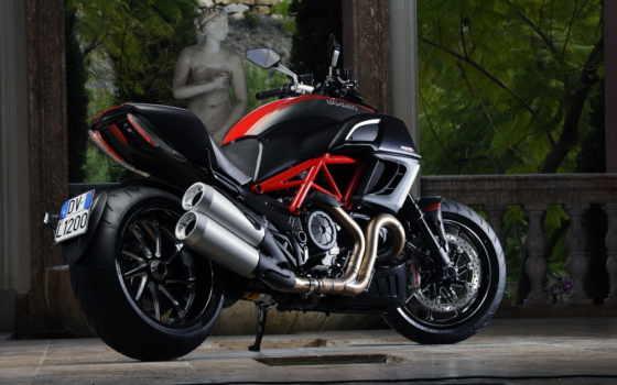 ducati, diavel, мотоцикл