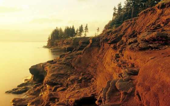 prince, edward, остров, stock, канада, images, getty, photos, cliffs, sandstone,