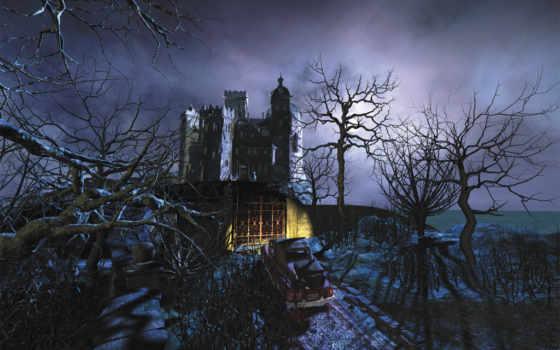witch, метле, замка, everything, кого, книги, привидениями,