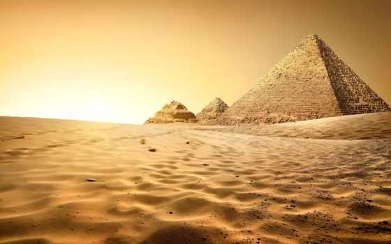 пирамида, пустыня, песок, египетский, египта, giz, cairo