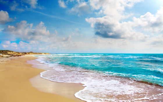 побережье, tropical, пляж