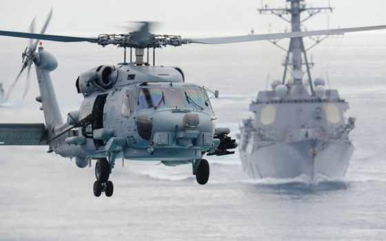 seahawk, вертолет, sikorsky, море, сикорский, самолёт, state, unite, небо