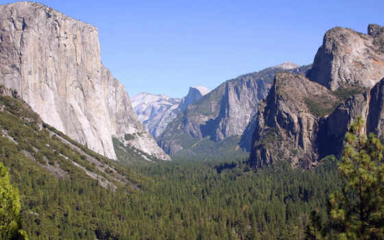 national, yosemite, park, kalifornii, naschityvauschii, сша
