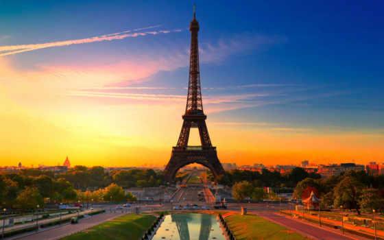париж, франция, башня Фон № 83997 разрешение 2560x1600