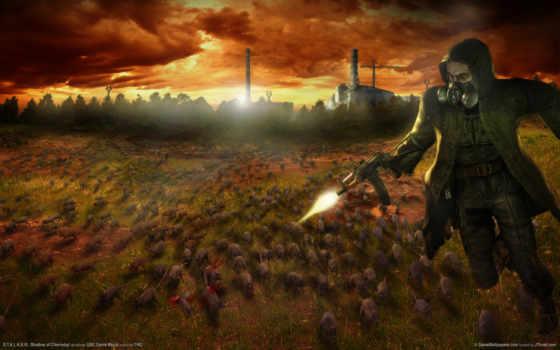 chernobyl, shadow, stalker Фон № 107425 разрешение 1920x1200