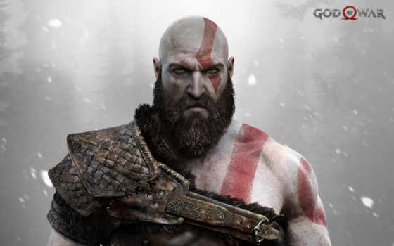 god, war, kratos, игры, sony,