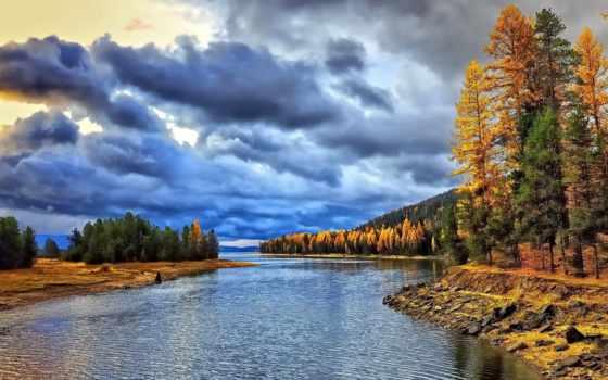 осень, landscape, пейзажи -, поэтов, об, русских, стих, природа, стихи,