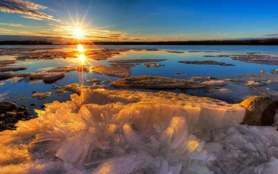 весна, early, pinterest, восход, crystals, melts, into,