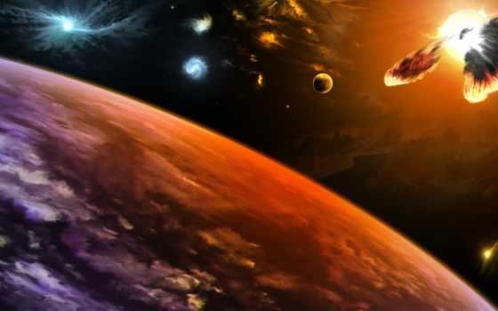 солнечный, system, planets, best,