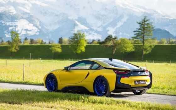 yellow, car, tune