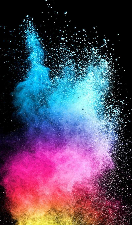 powder, colorful, samsing, galaxy, dark, abstract, серия