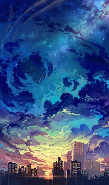 ,, небо, городской пейзаж, синий, дневной, природа, город, облако, горизонт,
