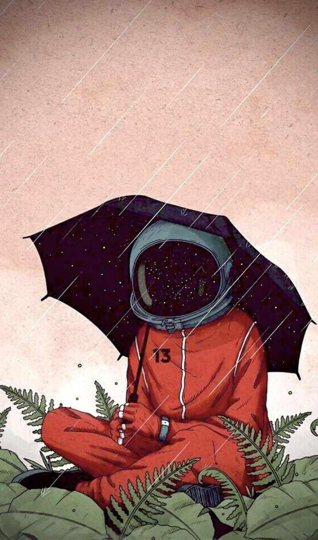 art, aesthetic, день, rainy, рисованный, cartoon, идея