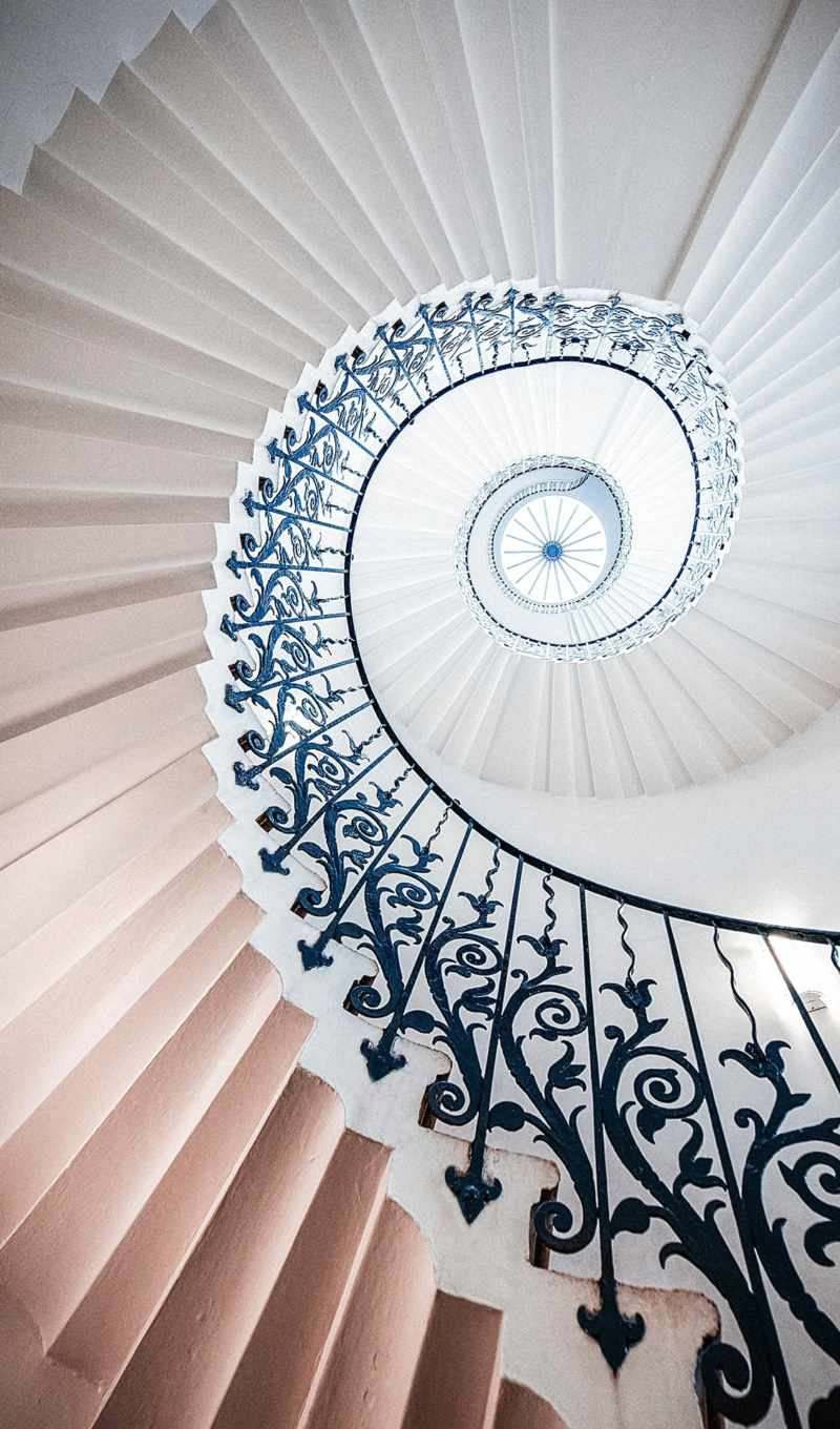 house, spiral, queen, staircase, royal, was,